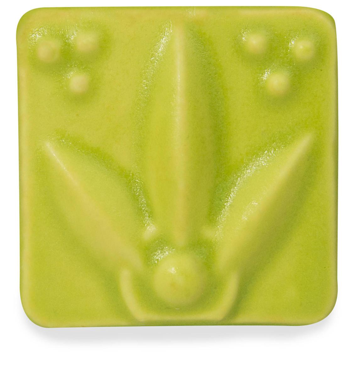 venta de esmalte para cerámica amaco satin matte SM-44 chartreuse alta temperatura