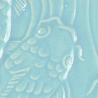 venta de esmalte para cerámica amaco Low Fire Gloss Lg-23 robins egg baja temperatura