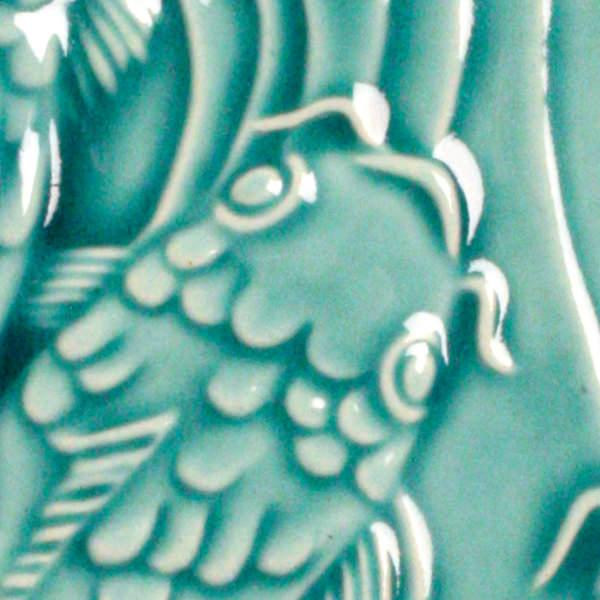 venta de esmalte para cerámica amaco Low Fire Gloss Lg-26 turquoise baja temperatura
