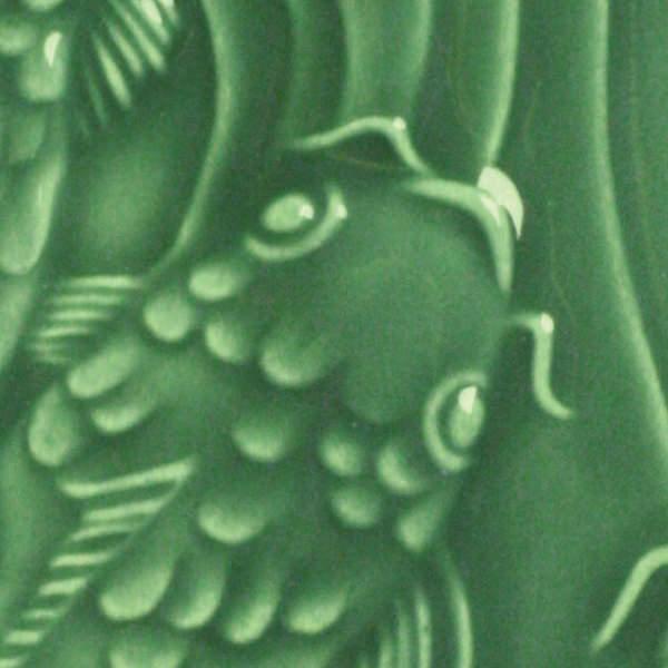 venta de esmalte para cerámica amaco Low Fire Gloss Lg-40 dark green baja temperatura