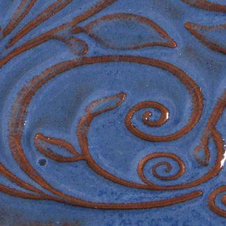 venta de esmalte para cerámica amaco opalenscent O-23 Sapphire blue baja temperatura