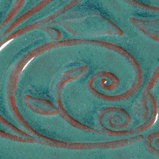 venta de esmalte para cerámica amaco opalenscent O-26 turquoise baja temperatura
