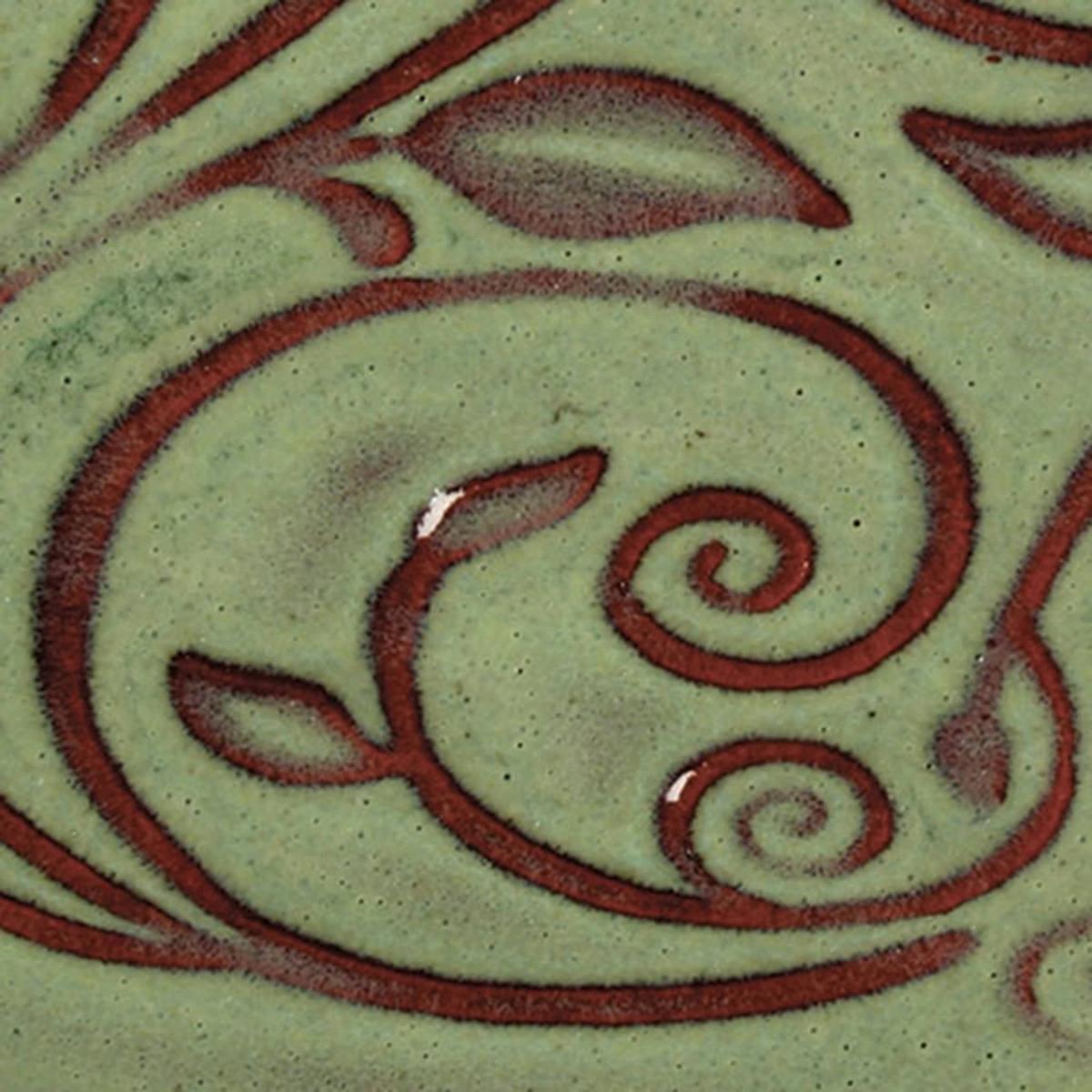 venta de esmalte para cerámica amaco opalenscent O-42 moss green baja temperatura