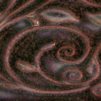 venta de esmalte para cerámica amaco opalenscent O-57 mottled burgundy baja temperatura