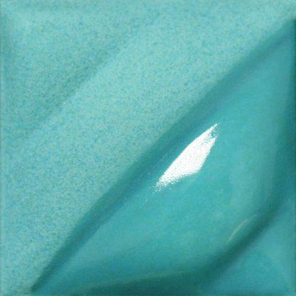 venta de esmalte para cerámica amaco velvet V-327 turquoise blue bajo esmalte