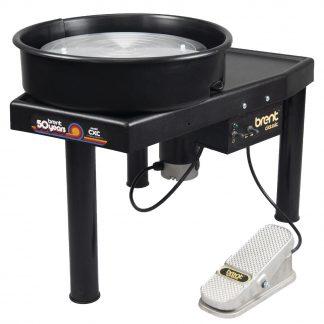 venta de torno wheel CxC black amaco para ceramistas
