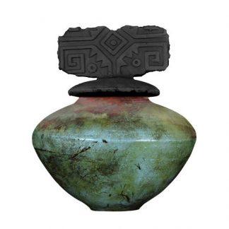 venta de esmalte especializados para cerámica amaco raku R-13 smokey blue baja temperatura