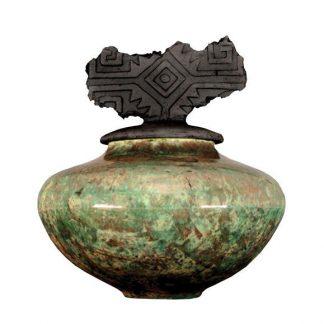 venta de esmalte especializados para cerámica amaco raku R-15 caribbean blue baja temperatura