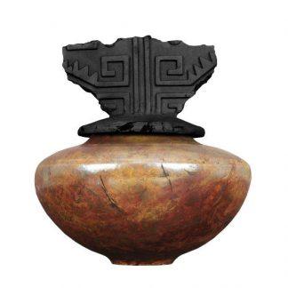 venta de esmalte especializados para cerámica amaco raku R-16 copper patina baja temperatura